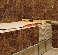 Нестандартные технологии по укладке мраморной плитки
