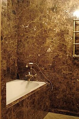 Мраморная плитка для отделки ванной