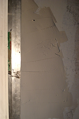 Шпаклевка стен под обои или покраску
