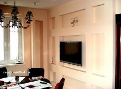 Декоративные ниши в стенах столовой