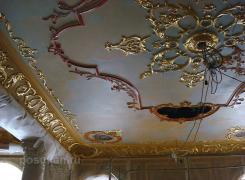 Патина для из гипса, мрамор оселковый, роспись под золото