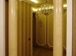 Колонны из оселкового мрамора