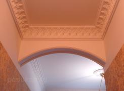 Потолок лепнина коридор